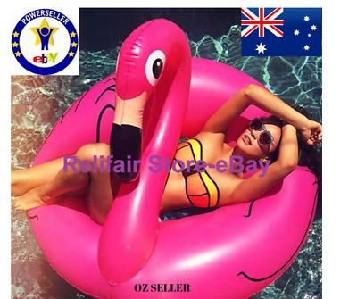 Inflatable Giant Pink Flamingo Pool Float~Best Floaties-Flamingo Blowup Pool Toy