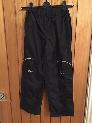 Berghaus AQ2 waterproof trousers 7-8 snow ski hiking