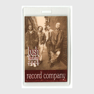 Bush authentic 1995 concert tour Laminated Backstage Pass