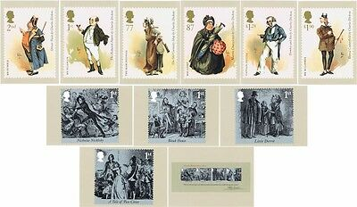 GB - Mint PHQ Cards - 2012 - Charles Dickens