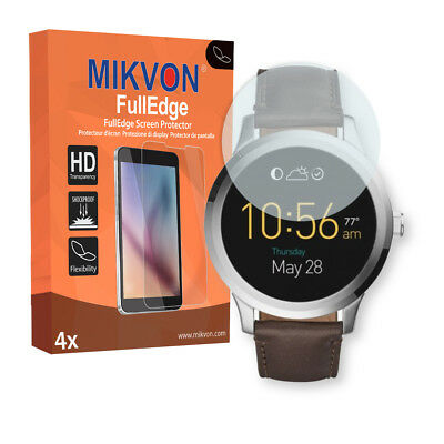 4x Mikvon FullEdge protector display para Fossil Q Founder 2.0 lámina