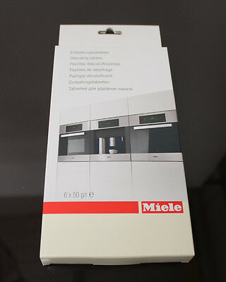 6 Genuine Miele Descaling Tablets For Ovens With Moisture Plus Cooking 10178330