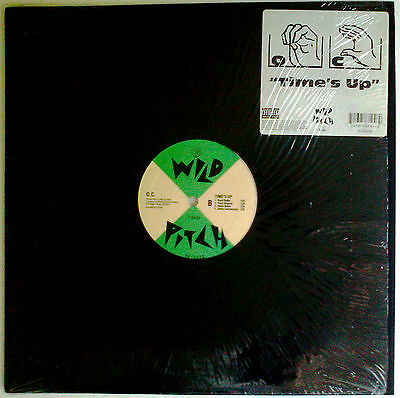 """O.C. """"TIME'S UP"""" on ORIGINAL U.S. RELEASE SINGLE 12""""VINYL in VERY GOOD CONDITION"""