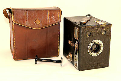 1930s Six-20 Brownie Junior (Portrait Model) Comes in VGC Or For Ornamental Use!
