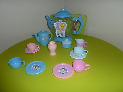 Kids Cinderella Arm Chair And Tea Party Set !