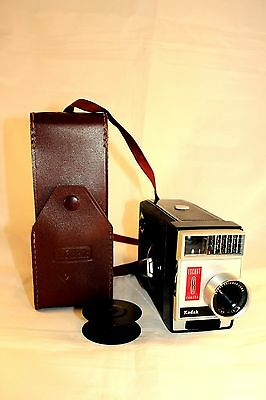 Escort 8 Vintage Movie Camera by Kodak Comes with Case & Spool (Display Only)