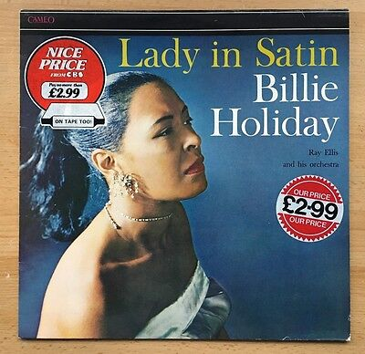 Billie Holiday With Ray Ellis And His Orchestra ‎– Lady In Satin Vinyl LP
