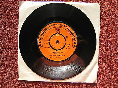 """The Ides of March - Vehicle. 1970 Funk/Soul 7""""single. VG"""