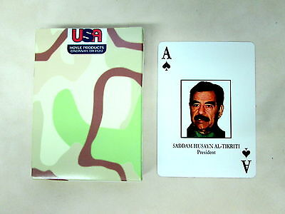 Iraqi Most Wanted Playing Cards Hoyle Military Edition - Sealed Case of 12 Decks