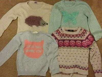 girls jumpers h&m 6-7 years