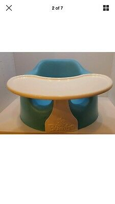 Baby Bumbo combo (seat and tray) Blue