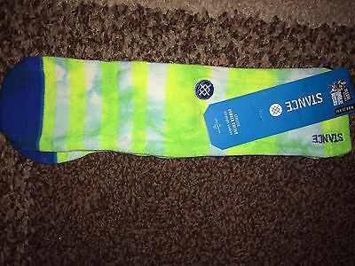 Kids STANCE Cotton Cushioned Athletic Crew Socks Ankle Biters (Shoe Sz 2-5.5)