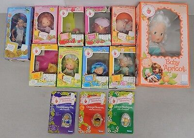 STRAWBERRY SHORTCAKE 1980-1982 DOLL LOT (In Boxes)