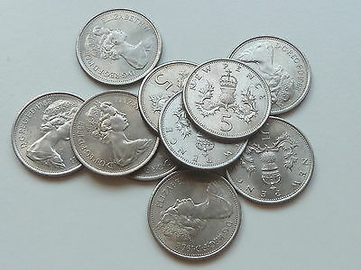 10 1968 UNCIRCULATED 5p FIVE PENCES