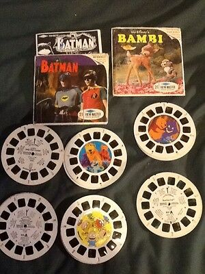 View-Master - lot assorted some complete some not show wear see pics.