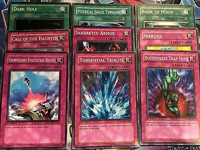 Yugioh Staples Lot/Bundle Common Near Mint/Light Play, Mixed Sets/Editions