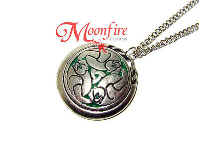 Brave Merida Queen Elinor Three Bears Celtic Pendant Necklace Our Fate Is Within