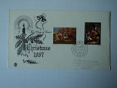 1st day cover: Christmas 1967