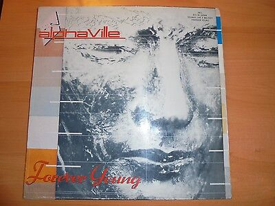 ALPHAVILLE Only Colombian lp FOREVER YOUNG  1985 10 tracks  Different Cover / 17
