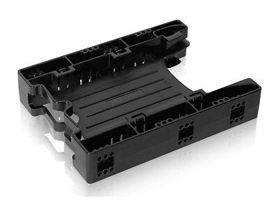 "Icy Dock MB290SP-B Dual 2.5 to 3.5"" Hard Drive & SSD Bracket Mounting"