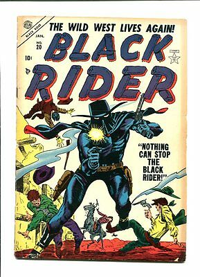 Black Rider 20-1954-Famous Cover-Wild West Vg