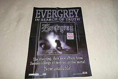 EVERGREY - In Search Of Truth POSTER 60 x 42 cm