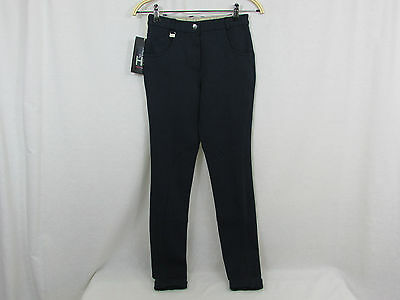 HY Performance Ladies Melton Jodhpurs - Navy size 24 reg - horse riding - new