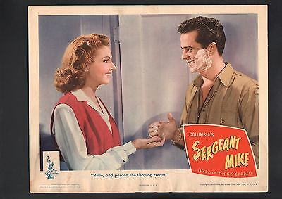 Sergeant Mike Lobby Card-1944-Larry Parks