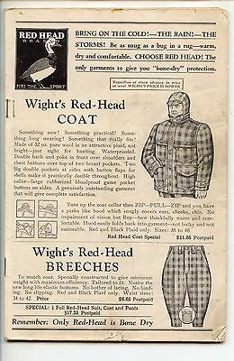 1938 Wights Hunting, Trapping Catalog, Bangor, Maine, LL Bean Like