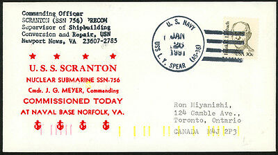 USS Scranton SSN 756 Commissioned 1991 US Navy