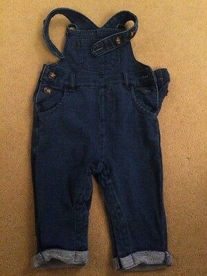 Tu Age 3-6 Months Baby Boys Blue Dungarees
