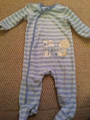 George Size 6-9 Months Baby Boys Thick Full Length Babygro