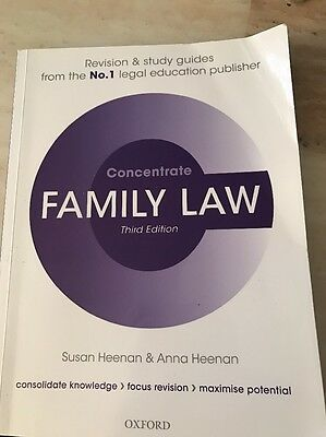 Concentrate Family Law Revision Book 3rd Edition