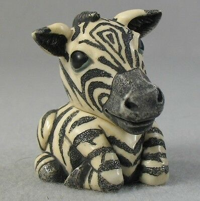 Harmony Ball Pot Bellys Striper's Blues The Black & White Zebra Pot Belly - Mib