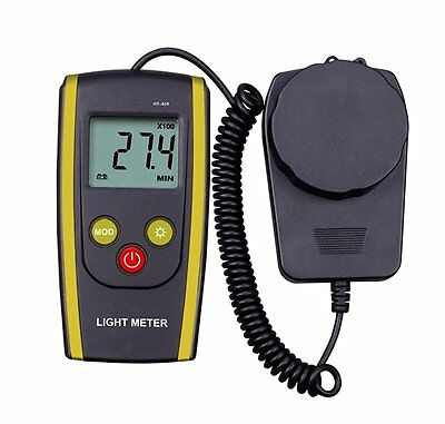 upHere Digital Handheld Photography Light Meter with - Measures Lux and Lumens (
