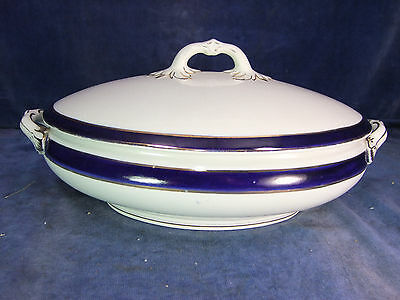 Vintage China Table Serving Tureen c.1910 [9948]
