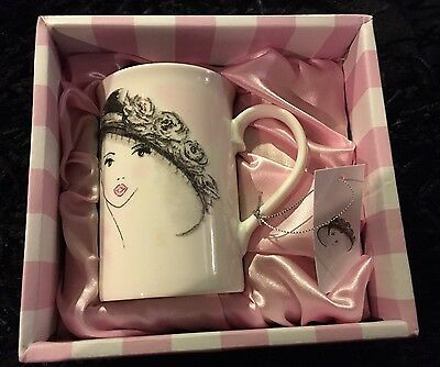 Lovely NEW & BOXED Fine China SECRETS Mug In Excellent Condition
