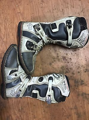 Kids Mx Boots Size 7