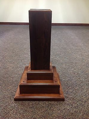 Trophy Base LARGE Walnut Wood
