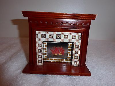 Dolls House Furniture Fireplace