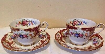 "2 Vintage Royal Standard Duos-""lady Fayre"""