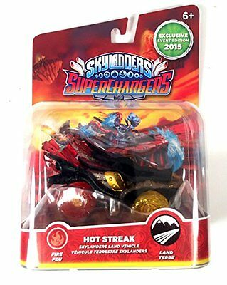 Skylanders Superchargers Hot Streak - E3 Exclusive super rare version New / NEUF