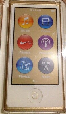 Apple iPod nano 7G 16 GB Gold Flash Portable Media Player Audio Player