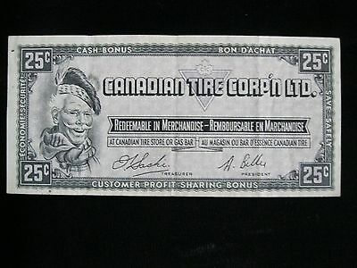 Canadian Tire Corp'n Ltd. 25 Cents