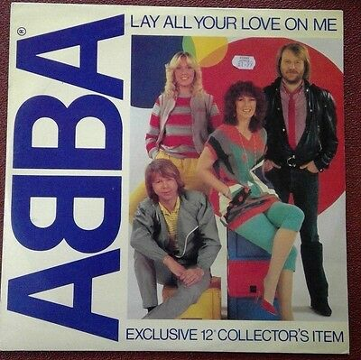 Lay All Your Love on Me  Abba 12-inch single