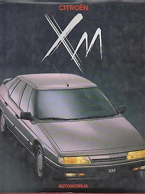 Citroen Xm 1989- Design & Development History Book (English French Italian Text)