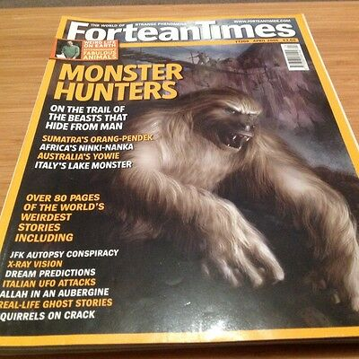 Fortean Times 208 April 2006 Cryptids Hominids JFK UFOs Ghosts Dreams