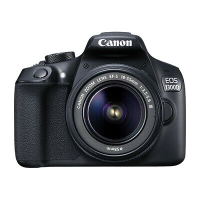 Canon EOS 1300D / Rebel T6 DSLR Camera with 18-55mm EF-S f/3.5-5.6 Lens