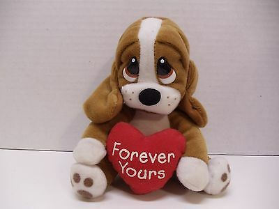 "applause Dog Puppy plush 5"" forever yours"