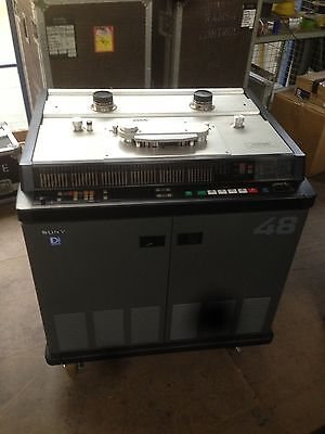 Sony PCM 3348 Digital Multi Track Tape Machines (pair) With Remote
